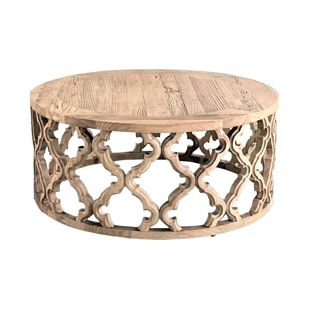 Trellis Round Coffee Table
