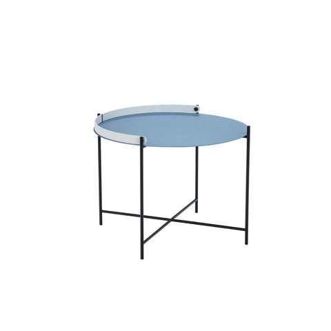 Edge Table Pigeon Blue Medium