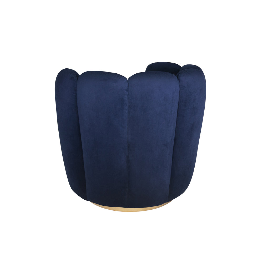 Zurich Swivel Chair Navy