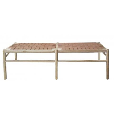 Jana Long Bench Tan