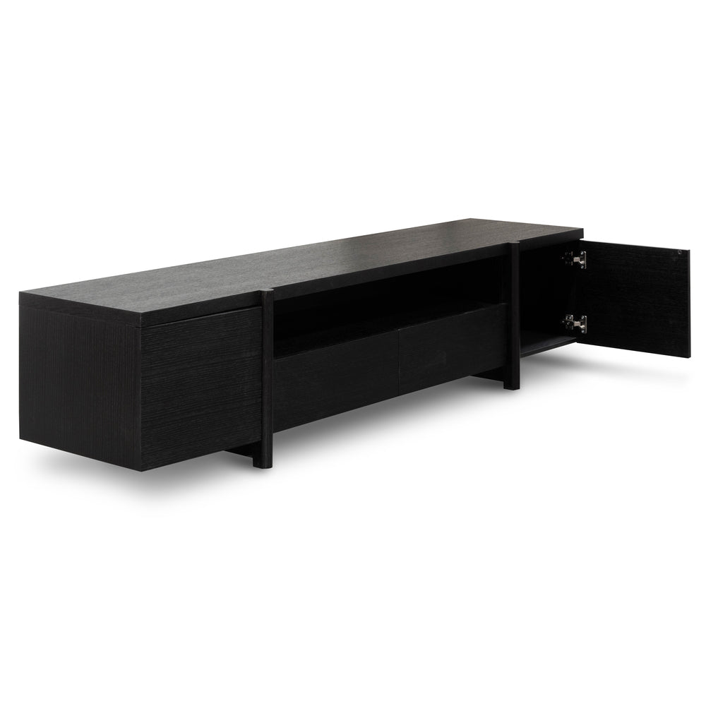 Jorgen Entertainment Unit Black