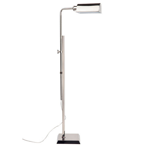 Ritz Floor Lamp Nickel