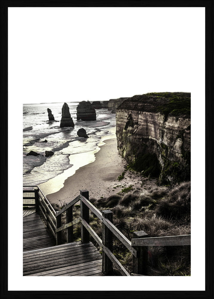 Apostles VIC Photographic Print with Frame