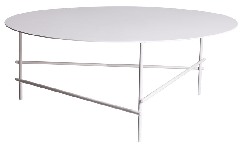 Baker White Coffee Table Large