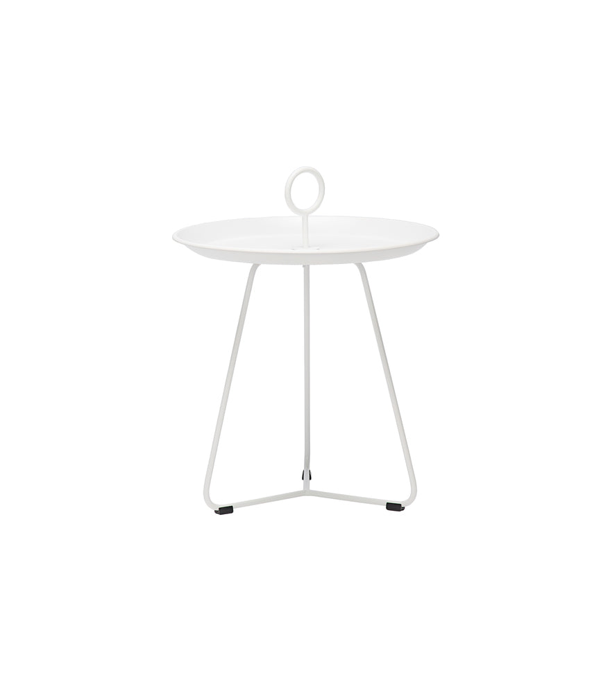 Eyelet Tray Table White Small