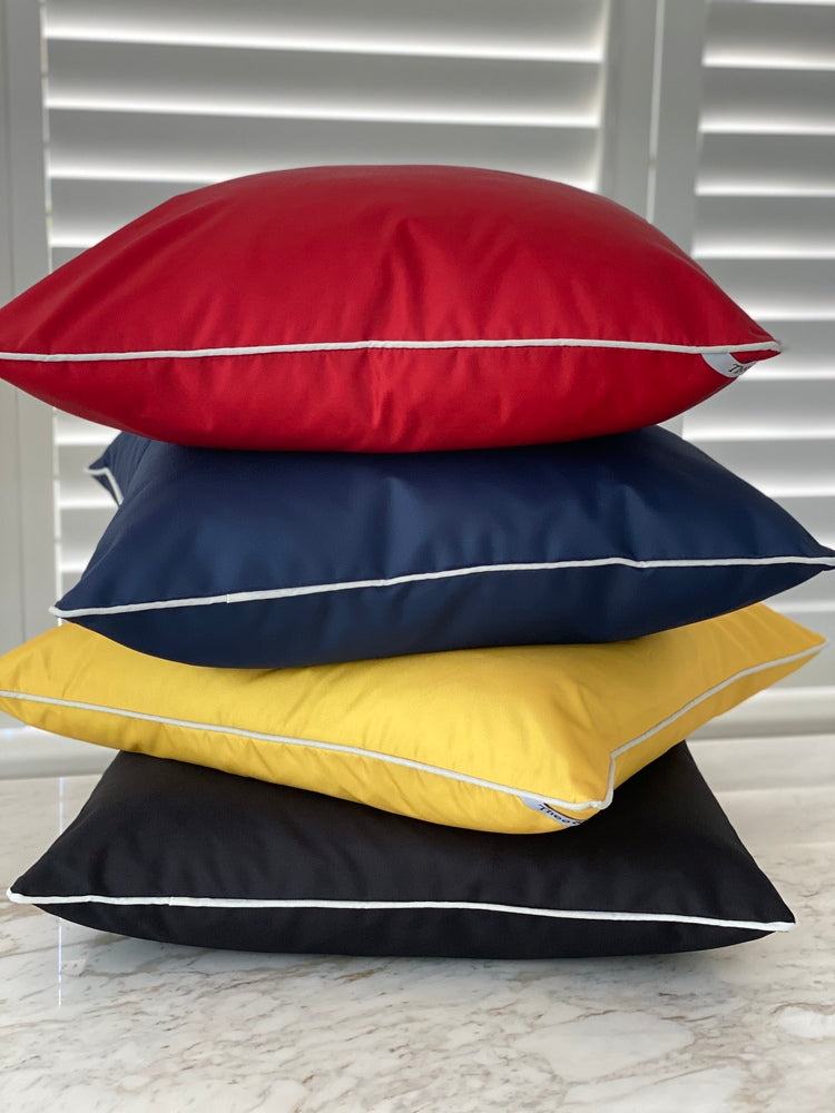St Malo Indoor/Outdoor Cushion Navy