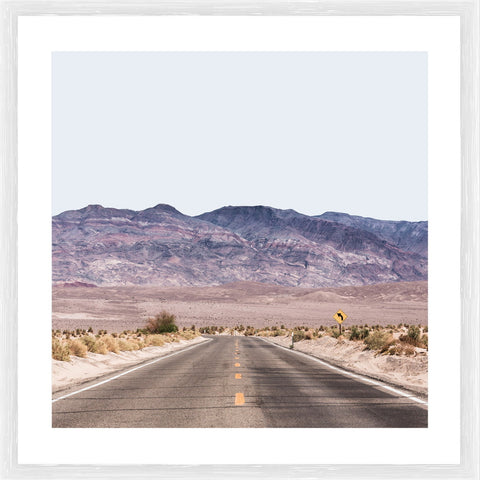 Harley Road Photographic Framed Print