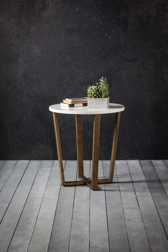 Portia Round Side Table