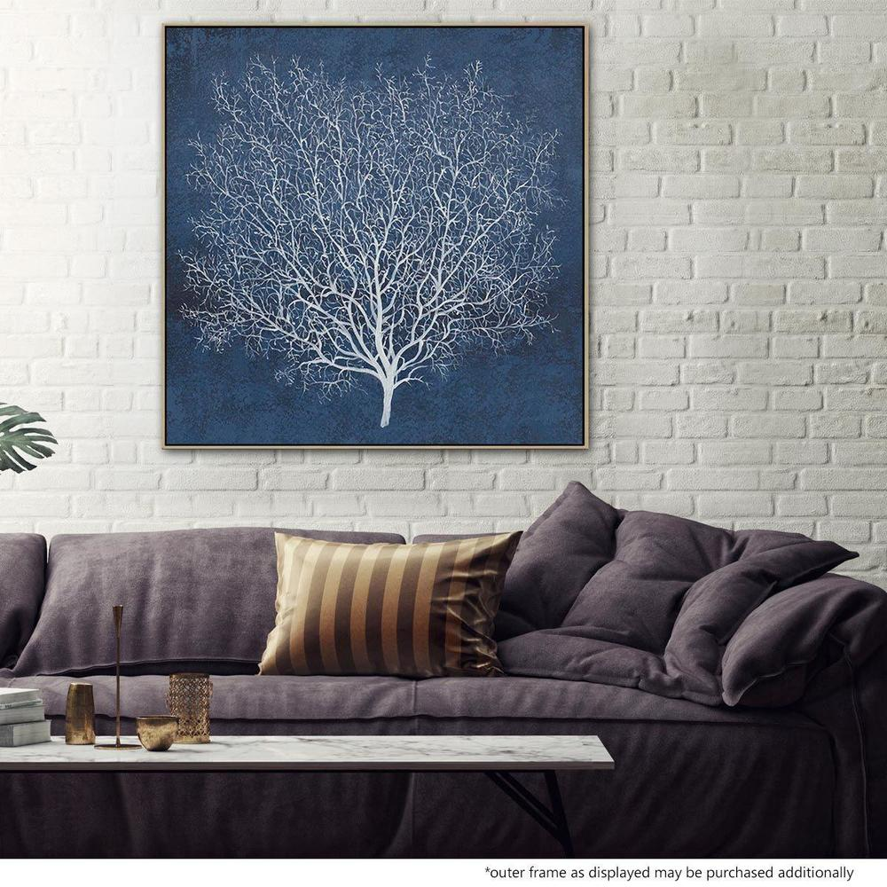 Banyan Tree Canvas Painting with Floating Frame
