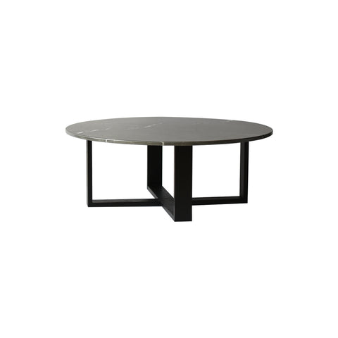 Ezra Round Marble Coffee Table