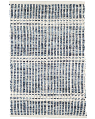 Huntington Wool Rug Blue