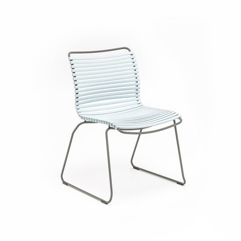 Click Position Outdoor Dining Chair Dusty Light Blue