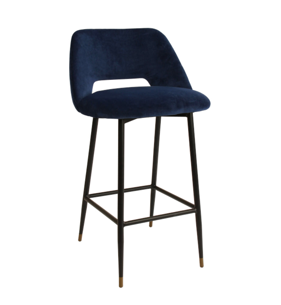 Milan Bar Stool Navy
