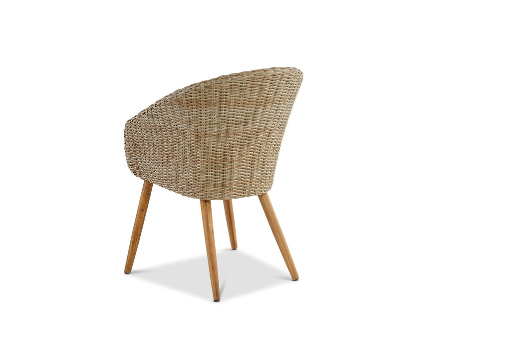 Altea Outdoor Dining Chair Natural