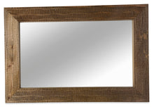 Ashanti Rectangular Wood Mirror