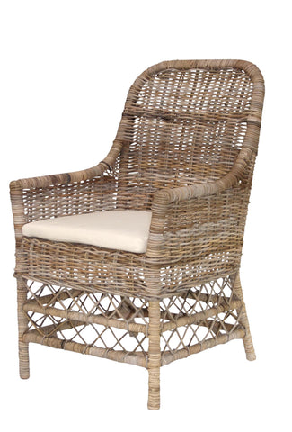 Remy Rattan Carver Chair