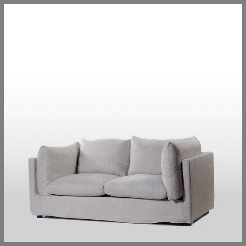 Ella 2 Seater Sofa Pebble