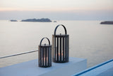 Light Tube Indoor/Outdoor Lantern Lava Grey Various Sizes