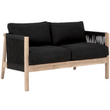 Brindi Two Seat Sofa Black