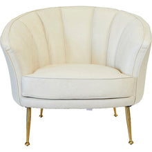 Starkey Arm Chair Ivory