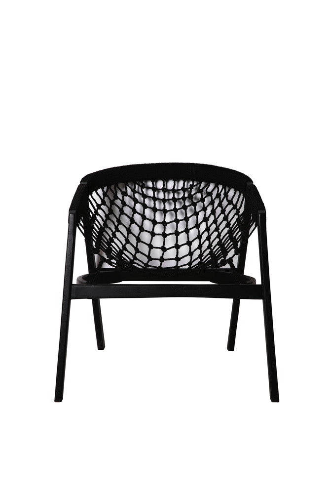 Black Rope Chair