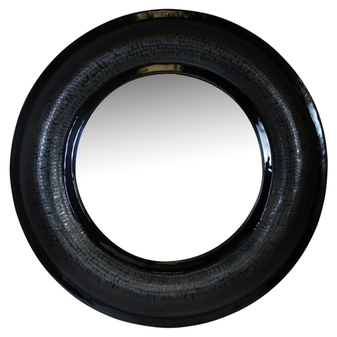 Livorno Mirror Black