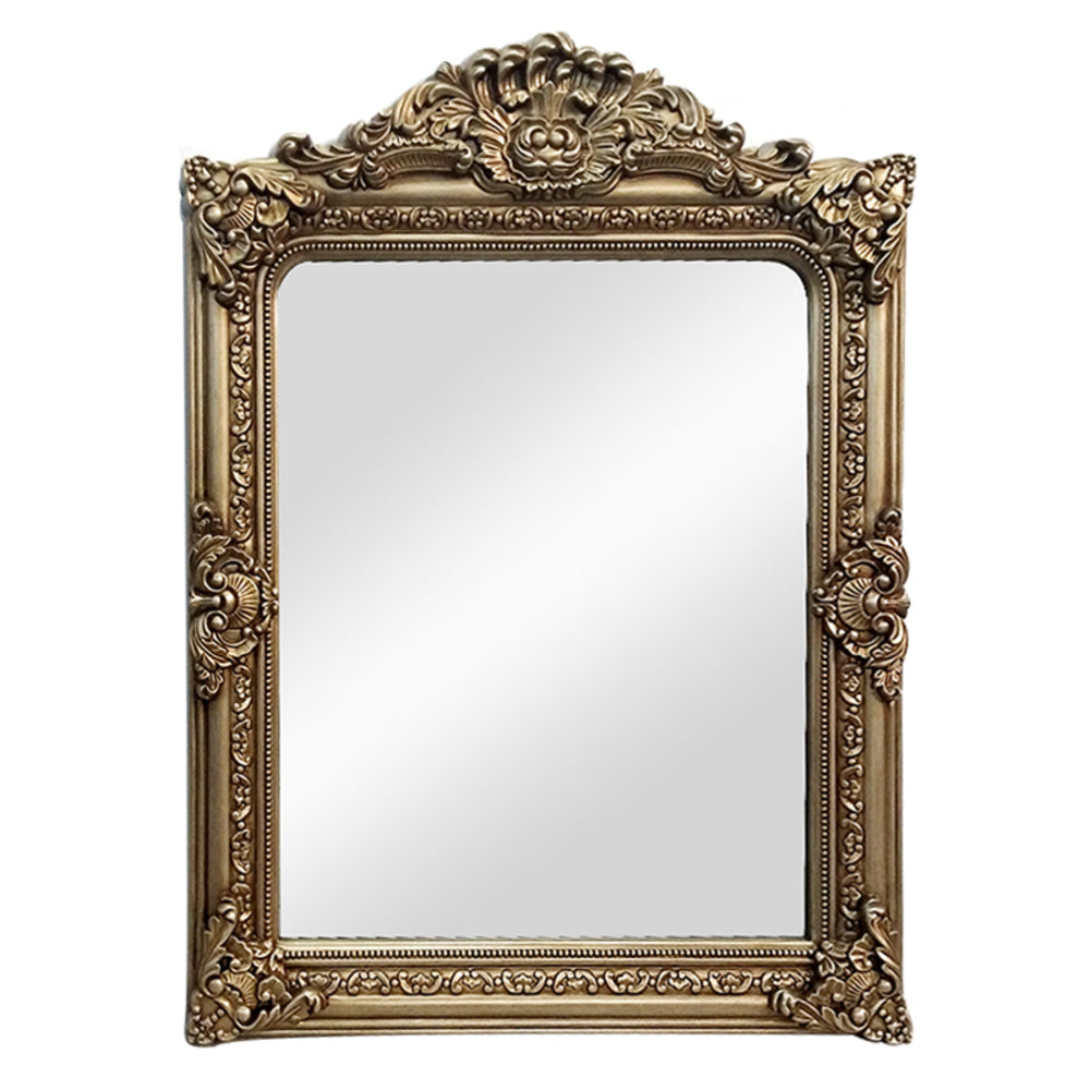 Louisa Wall Mirror Antique Gold