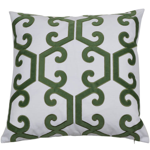 Seaforth Olive Cushion