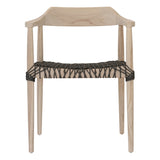 Sweni Horn Indoor/Outdoor Rope Armchair Charcoal