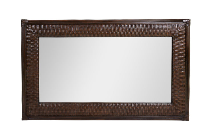 Moorea Rectangular Mirror Coffee Bean