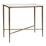 Preston Console Small Brass