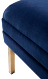 Broadway Bed End Navy