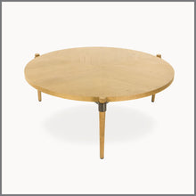 Colette Oak Wood Coffee Table