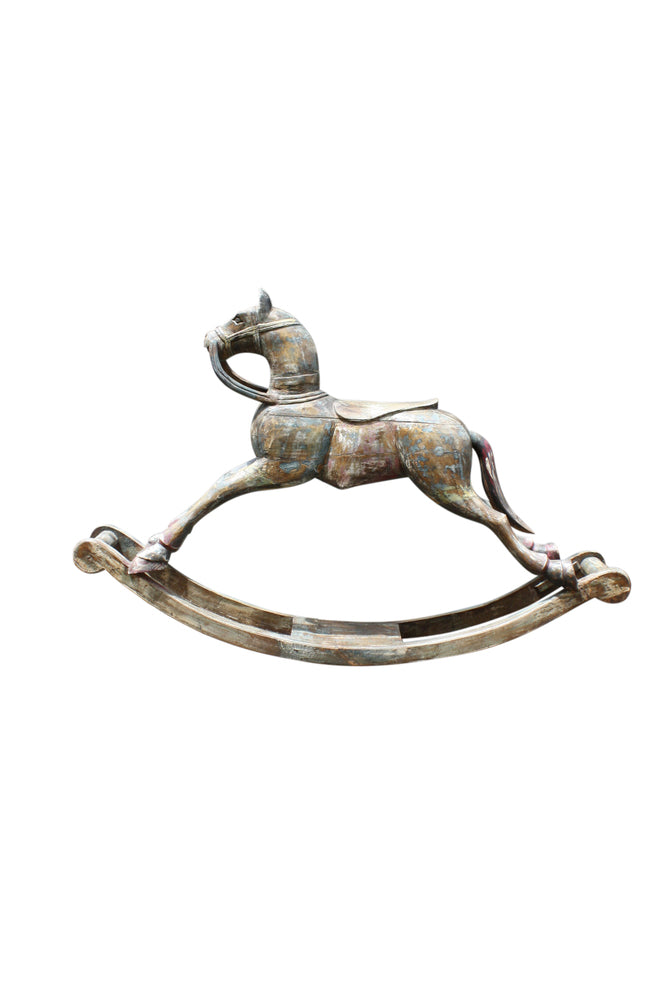 Carved Rocking Horse