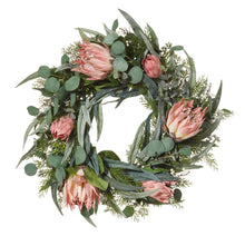 Protea Wreath Pink