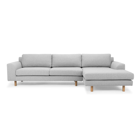 Masters Modular Sofa Light Grey Right Chaise