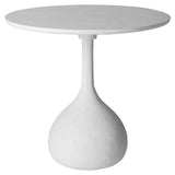 Diaz Outdoor Cafe Table White