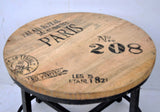 Paris Round Occasional Table