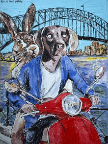 They Loved Being in Love on Sunny Days in Sydney Print