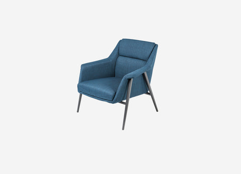 Jasmine Armchair Light Blue
