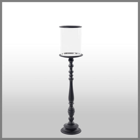 Candle Holder Black Extra Large