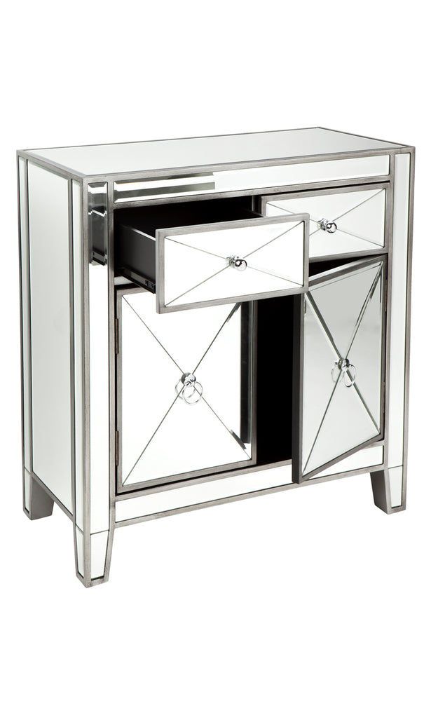 Apolo Cabinet Antique Silver