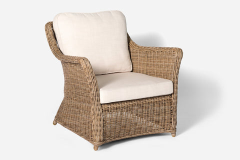 Ithaca Outdoor 3 Seat Sofa Natural