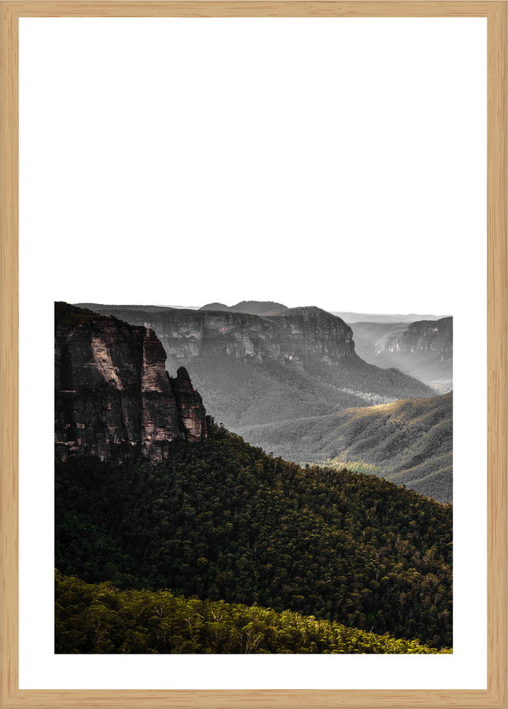 Blue Mountains NSW Photographic Print with Frame