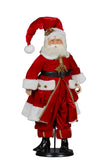 Limited Edition Lucinda Eldin Red Santa 81cmH