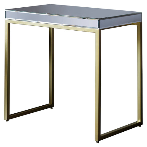 Patricia Mirrored Bedside Table 3 Drawers