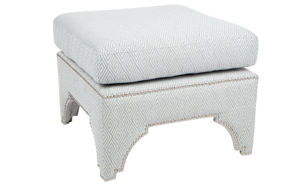 Jewel Low Stool Duck Egg Blue