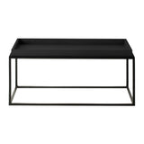 Fareham Tray Coffee Table Black