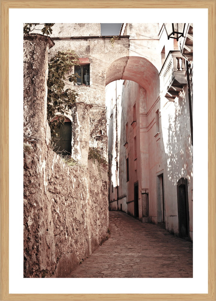 Ravello Way Photographic Print with Frame