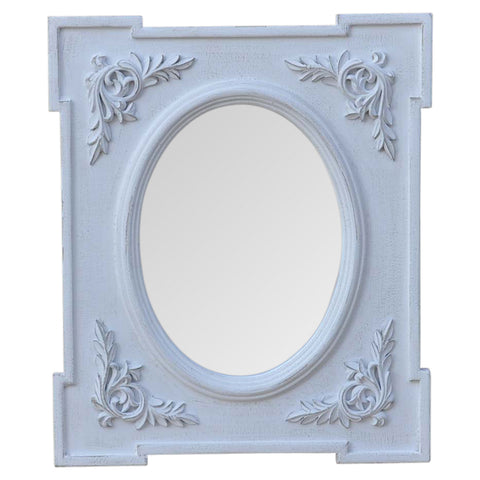Ornate Floral Mirror